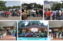 Uji Profisiensi Udara Ambient I Batch 1, Parameter SOx Nox dan NH3 Pelaksanaan Tgl 27 April 2017 Serpong Tangerang Selatan.